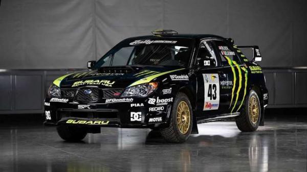 Subaru WRX STi, спортивное авто