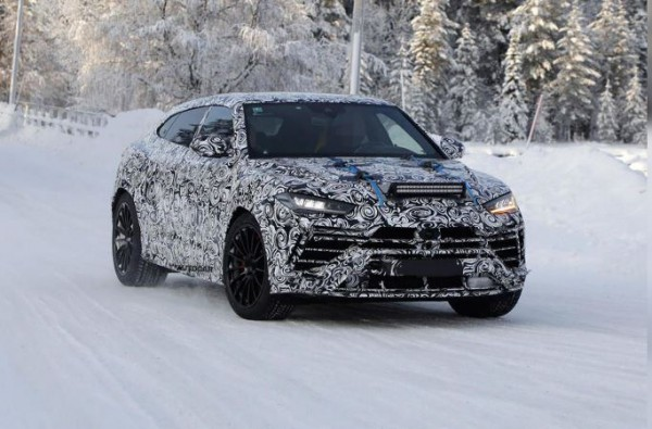 Lamborghini Urus, рестайлинговый