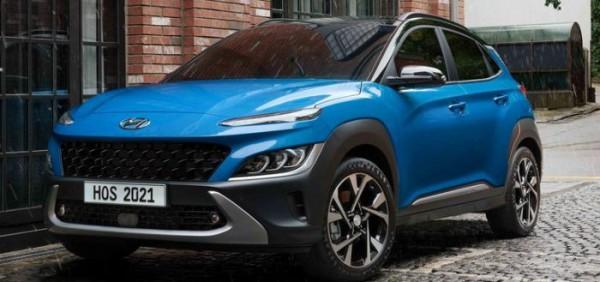 Hyundai Kona 2022, кроссовер обновленный