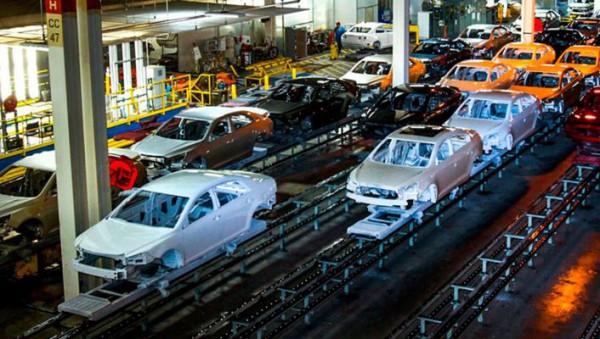 авто, завод, конвейер
