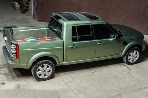Land Rover Discovery 4 pickup, VA-K Innovation