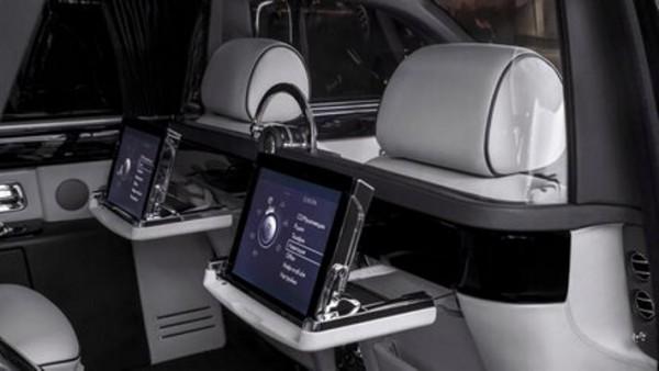 Rolls-Royce Phantom, перегородка