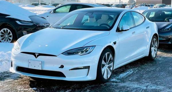 Tesla Model S, обновленная