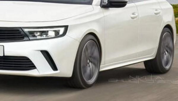 Opel Astra 2022, хэтчбек