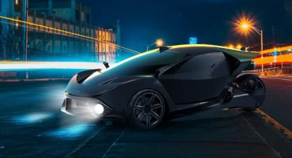 Spiritus, трехколесный автомобиль