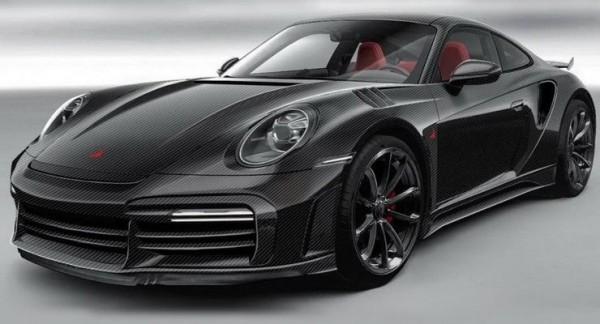 Porsche 911 Turbo S, карбоновый кузов, тюнеры, Россия