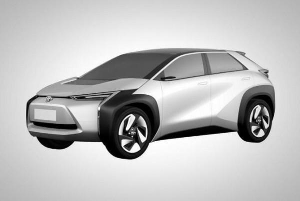 Toyota, электрический кроссовер