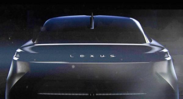 Lexus, фастбэк, электрический, тизер