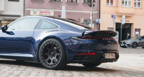 Porsche 911 от бюро delta4x4