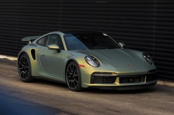 Porsche 911 Turbo, хамелеон