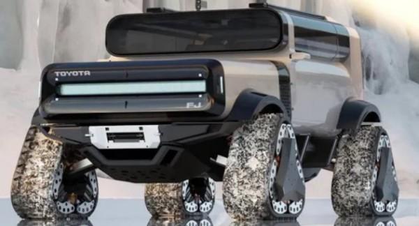 Toyota FJ Cruiser, рендер