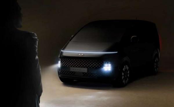 Hyundai Staria, новый минивэн