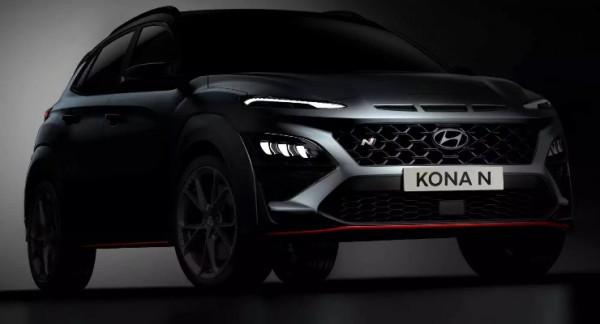Hyundai Kona N 2022 года