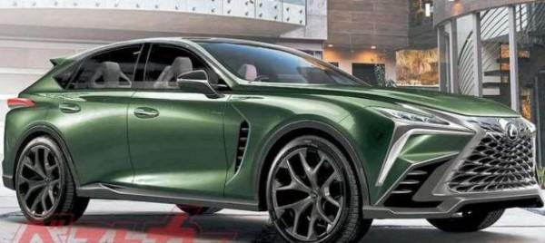 Lexus LF, кроссовер