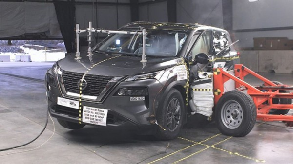 Nissan X-Trail, краш-тест