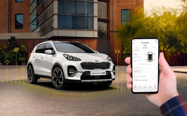 авто, мобильное приложение MyKia 2.0