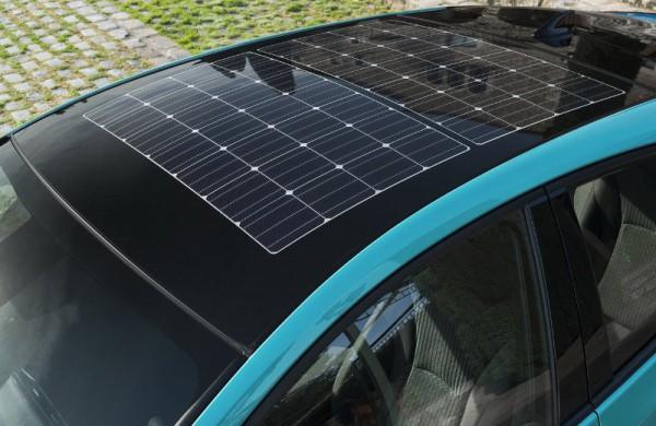 автомоибль, солнечная батарея