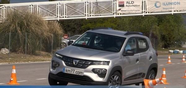 Dacia Spring, лосиный тест