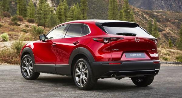 Mazda CX-30, новый