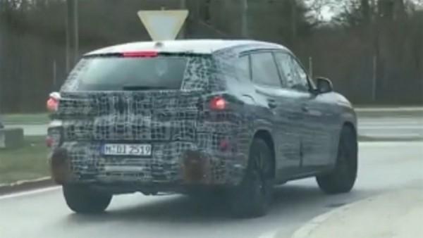 BMW X8, новый кроссовер