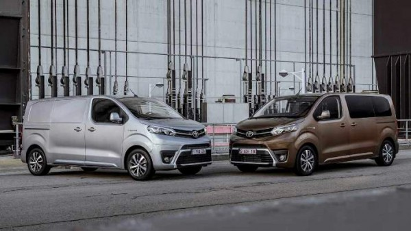 Proace Electric и Proace Verso Electric , электровэн
