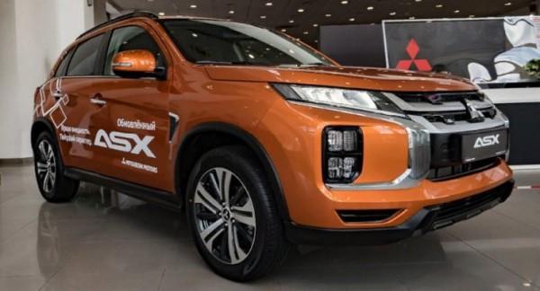 Mitsubishi ASX, кроссовер