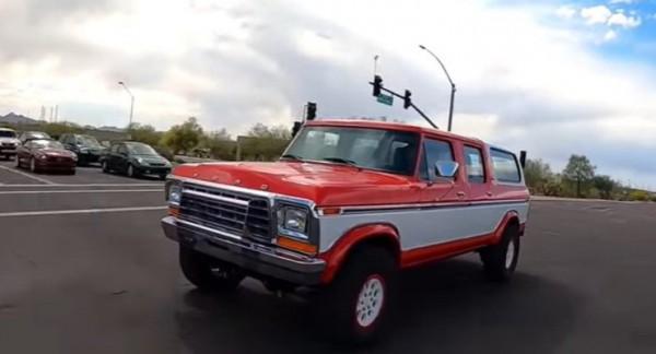 Ford Bronco, раритет, тюнинг