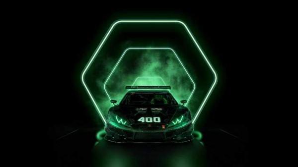 Lamborghini Huracan, гоночный, 400-й спорткар