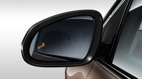 Lada Vesta FL, контроль слепых зон в зеркалах