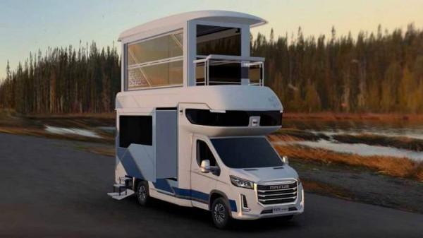 Maxus V90 Villa Edition, 2-этажный автодом