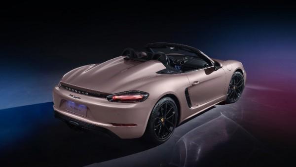 Porsche 718 Spyder, рынок Китая
