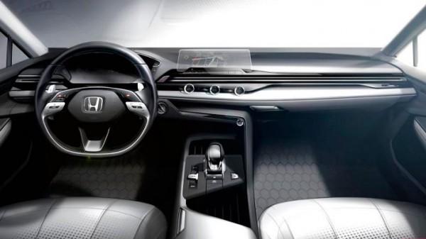 Honda, салон электрокаров