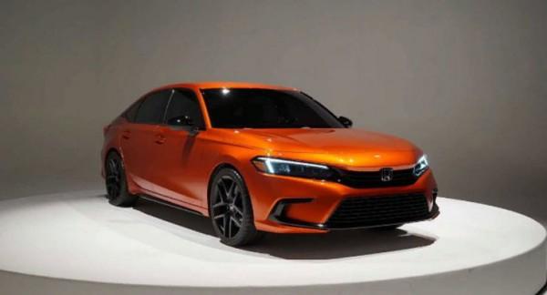 Honda Civic 2022 года