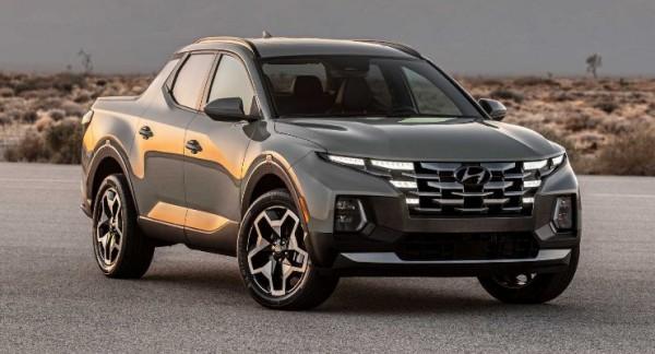 Hyundai Santa Cruz 2022 года, пикап