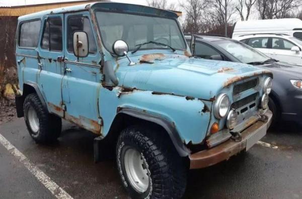 УАЗ-469, ржавый