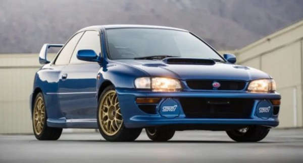 Subaru Impreza STi 1998 года