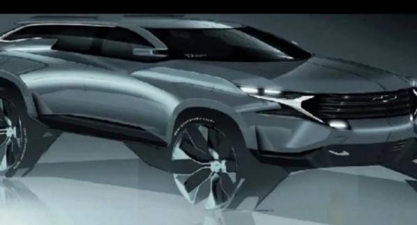 GM, внедорожник, стиль Chevrolet Camaro