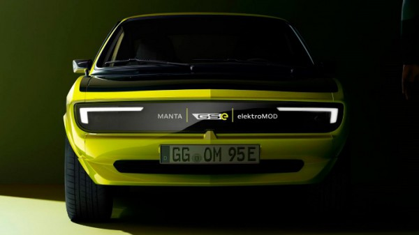 Opel Manta GSe ElektroMod, рестомод