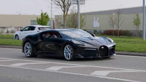 Bugatti La Voiture Noir, суперкар