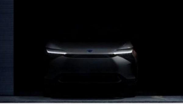 Toyota, новый электрокар, тизер