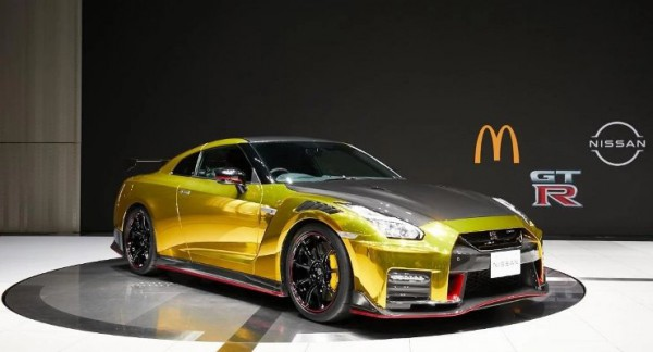 Nissan GT-R Nismo, Макдональдс