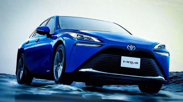 Toyota Mirai, водородный