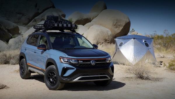 Volkswagen Taos, внедорожный