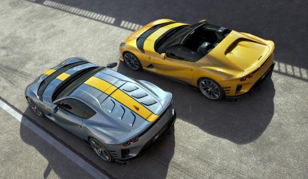 Ferrari, купе и кабриолет