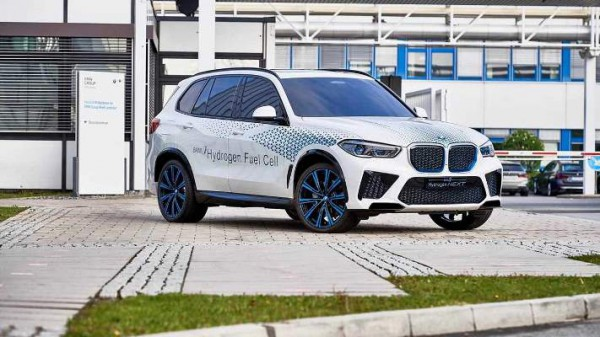 BMW X5, водородный