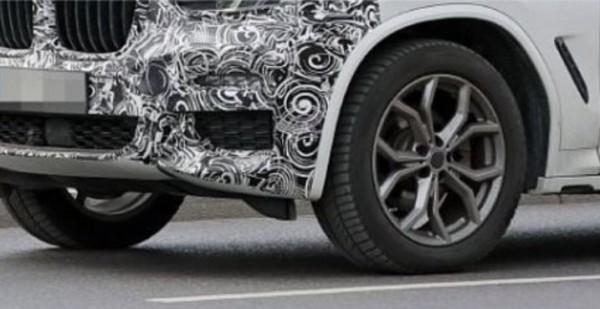 BMW X3 LCI 2022 года