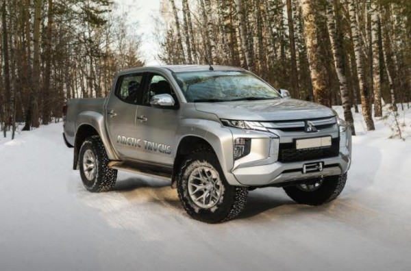 Mitsubishi L200, версия Arctic Trucks