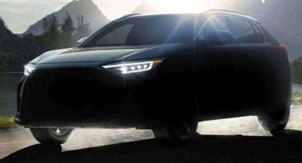 Subaru Solterra, рендер