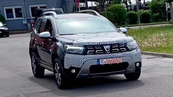 Dacia Duster, новый