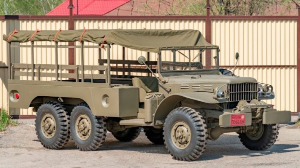 Dodge WC 1942 года, военный внедорожник